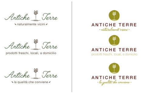 Antiche Terre, copywriting e logotipo - Maria Carmela Stella